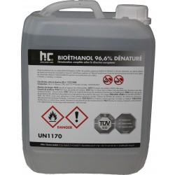 Bioethanol  96,6 % denature 6 x 3 L