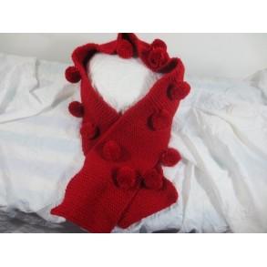 Écharpe en laine pour fille